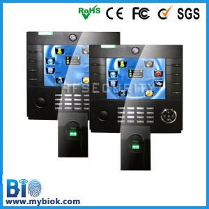 8''TFT Touch Screen Fingerprint Network Finger Time And Attendance Solutio(Bio-iclock3800)