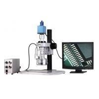 Best VGA Color Camera 3D Stereo Zoom Video Microscope with Magnification 25X-152X wholesale