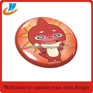 China Custom tin badge,cheap lapel tin badge with your own carton logo badge pin on sale
