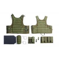 Best Military Tactical Vest With Two Pistol Pouch , Tactical Vest Carrier For Law Enforcement wholesale