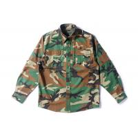 Best Woodland RipstopTactical Combat Uniform For Spring 65% Polyester 35% Cotton wholesale
