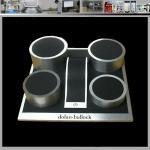 Best boutique best selling acrylic vitrine fine eardrop jewelry wholesale