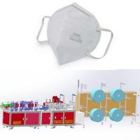 Buy cheap Fold Mask Machine System for Making FFP2 FFP3 N95 KN95 with CE FDA Semi-auto from wholesalers