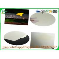 China 0.3mm to 3.0mm Glossy Art Paper / Uncoated White Absorbent Paper Hundred Percent Natural Pulp on sale