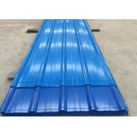 Best PPGL Color Coated Steel Roofing Sheet AZ30g / M2 - 150g / M2 Length 3M wholesale