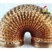 Best Hydroponics ventilation single or double layer aluminum foils/ polyester flexible duct wholesale