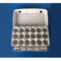 Buy cheap plup paper egg tray egg packing box 18 pcs disposable egg packing box paper from wholesalers
