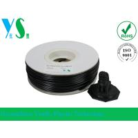 Best Black 3D Printer HIPS Filament 3.0mm Consumables With Paper Spool wholesale