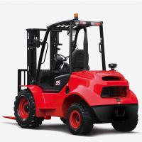 Best Compact Rough Terrain Forklift Small Turning Radius High Grade Ability wholesale