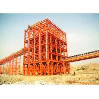 China Welded Industrial Steel Buildings Supporting For Belt Conveyor Mining Machine on sale