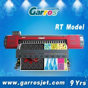 Best Garros 1.8m Wide Format Textile Sublimation Fabric Printing Machine T-shirt Printer wholesale