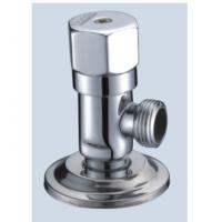 China Wall-Mounted Connecting Interface Brass Angle Valve With Slow-Open Cartridge on sale