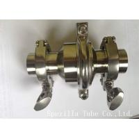 Best ASTM A270 Stainless Steel Sanitary Valves With Tight Tolerances wholesale
