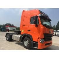 China Euro 2 Tractor Trailer Truck / Large Capacity HOWO Tractor Dump Truck on sale