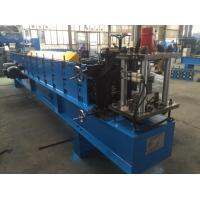 Buy cheap 1.5mm Z  Purlin Cold Roll Forming Machine 14 Stations with 1.2 inch Chain product