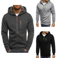 Buy cheap Men custom logo 300grams 100% cotton warm jersey fleece backing pullover hoodie from wholesalers