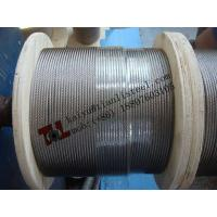 Best 1.4401 A4 316 7x19 3/16 4.76mm Stainless Steel Wire Rope for Communication Dead End Clamp wholesale