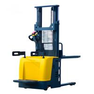 Best 1.5 / 2 Ton 5M Electric Pallet Stacker Wide Ligs Handle Heavy Loads Forklift Pallet Reach Stacker wholesale