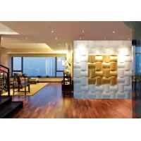 Best PU 3D Impression Decorative Wall Panel for Bathroom / Hotel wholesale