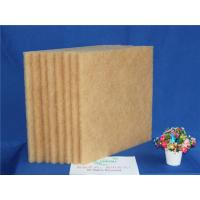 Best Brown High Temperature Filter Media , Synthetic Air Filter Media 20M Length wholesale