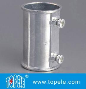 China EMT Set Screw Coupling,  Electrical Conduit Fittings Zinc Coupling/Flexible Metal Conduit Fitting Low F on sale