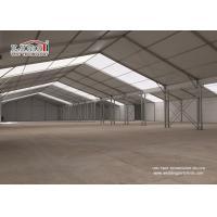 Best 20X80m White Aluminum and PVC Warehouse Tent for Temporary Storage Structures wholesale