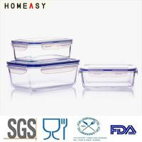 Best Homeasy Waterproof Glass Food Storage Containers Gift Set High Borosilicate wholesale