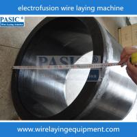 Best CNC PASIC wire laying machine for PE electorfusion fittings PC-160/315ZF laying wire wholesale