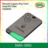 China 434MHZ Renault Laguna Key Card PCF7947 SMG-3005 on sale
