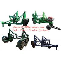 Best Cable Reel Trailer  Cable Reel Puller  Cable Conductor Drum Carrier wholesale
