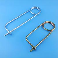 Best Made in China Heavy duty zinc yellow wire safety pin with good price wholesale