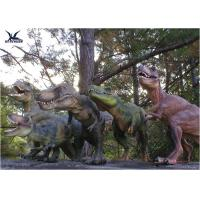 Cheap Attractive Robotic Life Size Dinosaur Statues With Dinosaur Alive Roaring Sound for sale