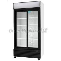 LED / T5 Light Commercial Upright Freezer Glass Door With Tecumseh Compressor