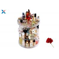 Best 360 Degree Rotating Acrylic Cosmetic Makeup Box Storage Organizer Color Customized wholesale