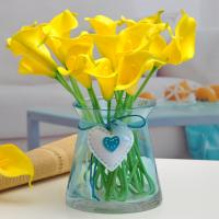 artificial real touch calla lily pu material calla lily