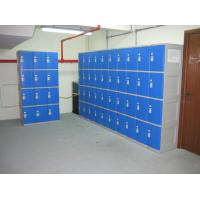 Best Highly Water Resistant Red Shoe Storage Locker Gray Body 4 Comparts per Column wholesale