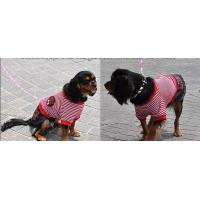 Best Customized Small Breed Dog Clothes XS , XXL Size velour cotton Material wholesale