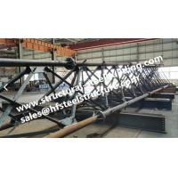 Hot Galvanized Steel Tubular Lattice Tower For Electrical Power Telecommunicatio