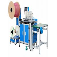 China 1.5kw Double Loop Wire Binding Machine Size 1/4 To 7/8 With Binding Hanger Attachment on sale