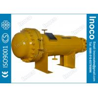 China BOCIN Carbon Steel Gas filter separator with cartridge to remove solids and mesh pad to remove mist on sale