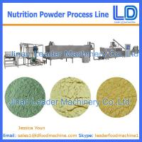 Best China Manufacturer Nutrition powder processing eauipment,Baby rice powder food machinery wholesale