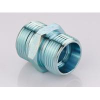 China Metric Straight Thread Fittings , Male Bsp Threaded Pipe Fittings 1CB / 1DB on sale