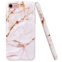 Buy cheap Gold Marble Apple Cell Phone Cases Slim Shockproof Smooth TPU Soft Skin Cover product