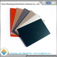 Best Roofing Panel Color Coated Aluminium Alloy Sheet 1100 1060 1050 H24 / H14 0.6mm wholesale