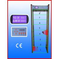 Best Walk-through Metal Detector,Door frame metal detector, JLS-8008(8 Zones&LCD display) wholesale
