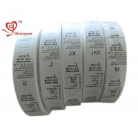 Cheap 32 mm Eco friendly Custom Printed Ribbon Spool for packaging Heat Cut for sale