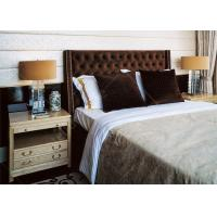 Cheap High End Solid Wooden Villa Furniture  , Queen Or King Bedroom Sets for sale
