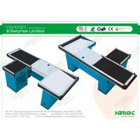 China Supermarket Check Counters with Black Conveyor Belt HBE-108 wholesale