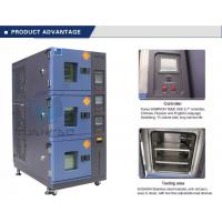 Best Vehicle Temperature Humidity Test Chamber , 3 Layer Air Cooling Climatic Stability Testing Equipment wholesale