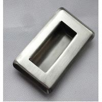 China Stainless steel embedded flush pull hand chest drawer machinery equipment Handle on sale